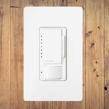 Lutron Maestro LED+ Motion Sensor Dimmer Switch